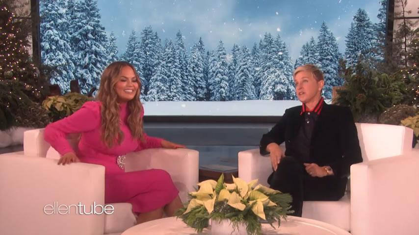 The Ellen Show – Chrissy Teigen's Perfume Ad