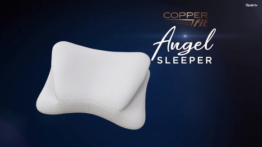Angel SLEEPER by Copper Fit TV Commercial, 'Spine and Neck Alignment'
